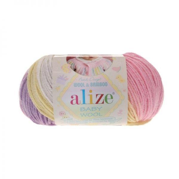 4006 белый, жёлтый, розовый, фиолетовый