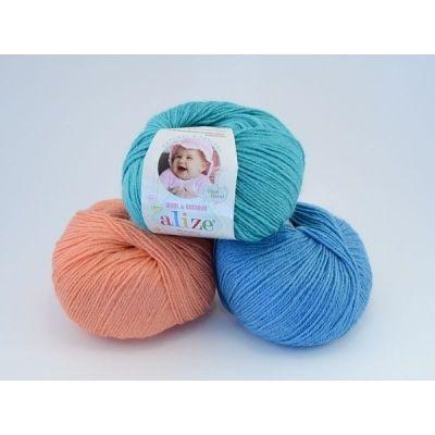 Baby Wool (шерсть 40%, бамбук 20%, акрил 40%) (50гр. 175м.)