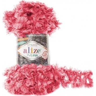 Puffy Fur (микрополиэстер 100%) (100гр. 6м.)