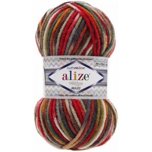 Superlana Maxi Multicolor Alize