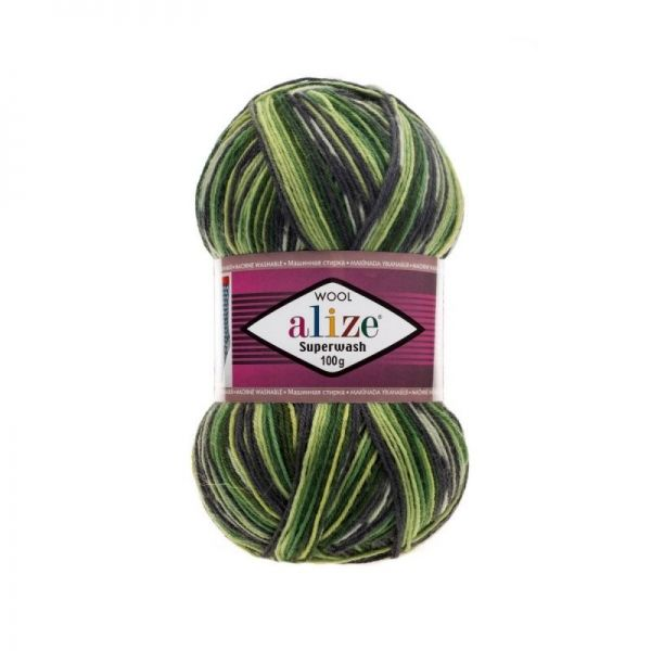 2696 зелёный, салатовый, серый
