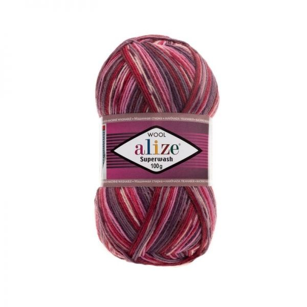 2698 красный, розовый, сиреневый, тёмно-серый