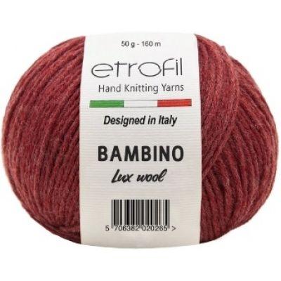 Bambino Lux Wool (60% шерсть мериноса, 40% акрил) (50гр. 160м.)
