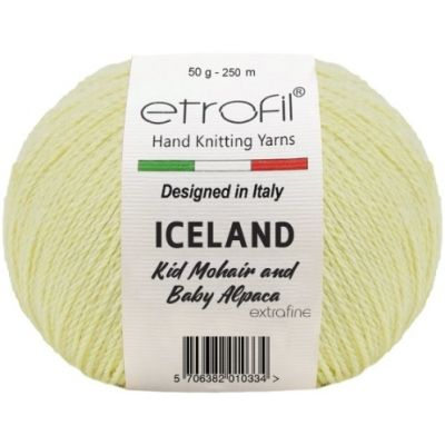 Iceland (10% мохер, 5% альпака, 55% полиамид, 30% вискоза) (50гр. 250м.)