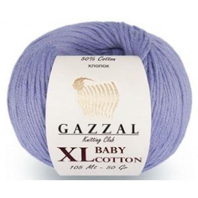 Baby Cotton XL (50% хлопок, 50% полиакрил) (50гр. 105м.)