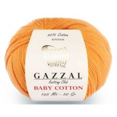 Baby Cotton (хлопок 60%, полиакрил 40%) (50гр._165м.)