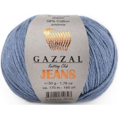 Jeans (хлопок 58%, акрил 42%) (50гр. 170м.)