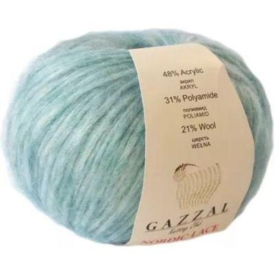 Nordic Lace (21% шерсть, 48% акрил, 31% полиамид) (50гр. 115м.)
