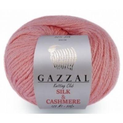 Silk и Cashmere (шелк 50%, мериносовая шерсть 30%, кашемир 20%) (50гр. 125м.)