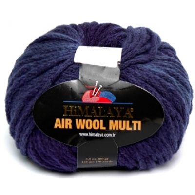 Air Wool Multi (74% акрил, 13% полиамид, 13% шерсть) (100гр. 155м.)