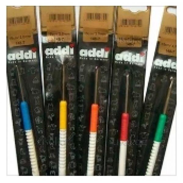 Крючок ADDI с пластиковой ручкой