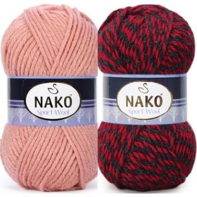 Sport Wool (шерсть 25%, премиум акрил 75%) (100гр. 120м.)