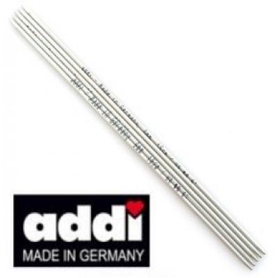Спицы ADDI (Чулочные алюминиевые с тефлоновым покрытием) прямые 15 см. (арт. 201-7)