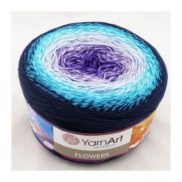 254 фиолетовый, белый, голубой, чёрный