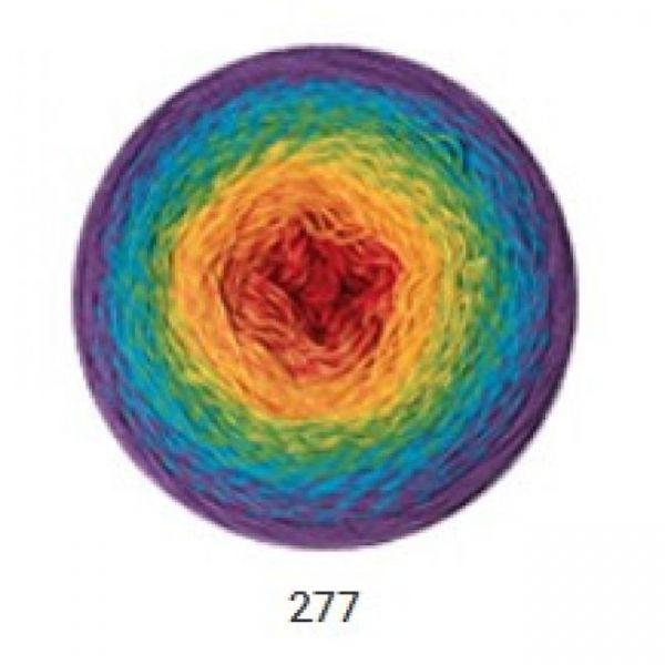 277 слива, жёлтый, красный, зелёный, голубой