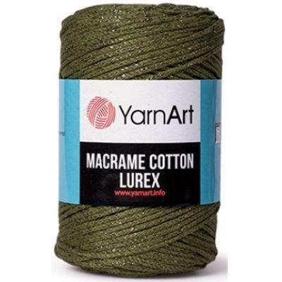 Macrame Cotton Lurex (хлопок-75%, полиэстер-13%, металлик-12%) (250гр. 205м.)